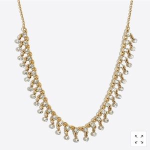 Jcrew Factory crystal statement necklace